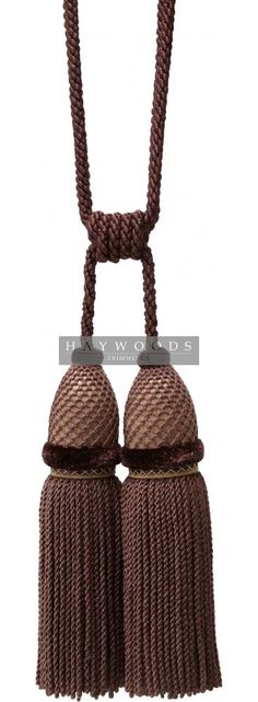 Double tassel tieback | Haywoods Trimmings
