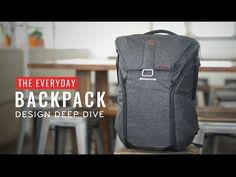 A pack that adapts to your ever-changing gear, lifestyle and environment, the Everyday Backpack was created by a team of designers, engineers, and photographers to meet the needs of creative, adventurous people.