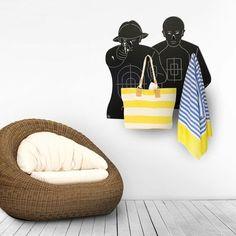 Clothes hangers POLIGONO - NIKLA-STEEL-DESIGN - Haczyki ścienne