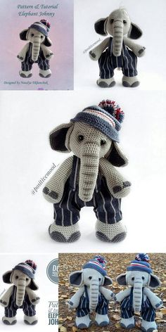 2019 Amigurumi Doll And Animal Crochet Pdf Free Patterns And Tutorials - Amiguru. : 2019 Amigurumi Doll And Animal Crochet Pdf Free Patterns And Tutorials – Amigurumi Crochet Animal Patterns, Crochet Doll Pattern, Crochet Patterns Amigurumi, Stuffed Animal Patterns, Amigurumi Doll, Doll Patterns, Crochet Hippo, Crochet Elephant, Cute Crochet