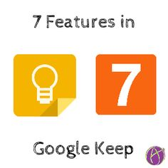 7 features Google Keep -- Google Keep is an easy way to take quick notes, create to-do lists, or save important information....