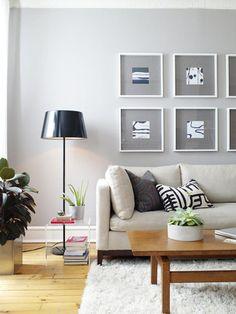 admittedly, I love minimalist modern decor.