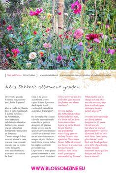 silviadekker Allotment Gardening, Changing Jobs, Stationery Items, Textile Design, Welcome, Plants, Van, Website, Instagram