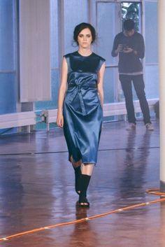 Plastic Island - Katarína Chválová, Fashion Show EXIT'15, Ateliér Design oděvu, FMK UTB Zlín, fashion design, foto: Ateliér Design oděvu #design #czechdesign