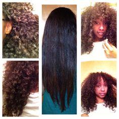 Natural hair length check