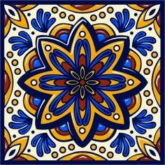 Azulejo Mexicano 01                                                                                                                                                                                 Mais