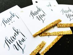 Sparkle Thank You Notes