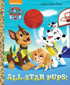 Hoop it up with Nickelodeon's PAW Patrol as they take to the court forAdventure Bay's big basketball game. Boys ages 2 to 5 will cheer for thisaction-packed Little Golden Book.