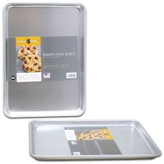 Nordic Ware Bakers Half Sheet, 13 By 18 By 1 Inch (Pack of 2)