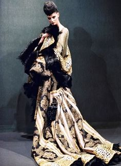 Galliano for Givenchy. 1995.