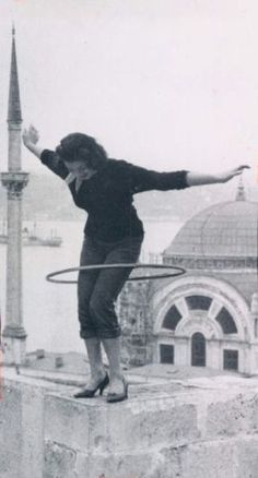 Rooftop hooping. I think this is how I died in my past life.