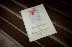 Real wedding: the stationery