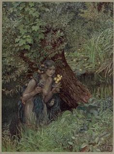 venusmilk:  The Book of old English songs and ballads, illustrations by Eleanor Fortescue-Brickdale