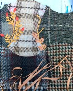 Foolproof Crazy Quilt Project - Upcycled Wool Bag (Part Two)