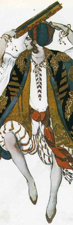 Operatic costume designs, 1911  Leon Bakst