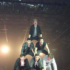 the pyramid #onedirection