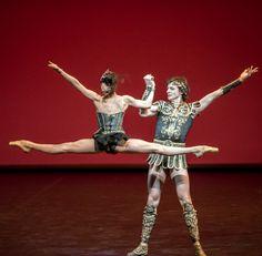 Irina Perren and Marat Shemiunov in Spartacus. Photo by Jack Devant Ballet Performances, Ballet Beautiful, Dance, Sports, Spartacus Workout, Dancing, Hs Sports, Sport