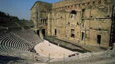Es soll einst 10 000 Plätze gehabt haben: Das Amphitheater von Orange