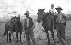 Horse wranglers, 1910s bastardkeaton
