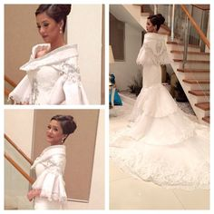 Modern Filipiniana Gown, Filipiniana Wedding Theme, Barong Wedding, Wedding Bridesmaid Dresses, Wedding Gowns, Prom Dresses, Maria Clara Dress Philippines, Ball Gowns Prom, Pageant Gowns