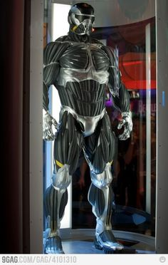 Awesome suit is awesome - CRYSIS