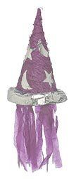 Wizard Hat Pinata with Pull String by Shindigz. $12.99. Pinatas are the ultimate in classic party games! They also make great decorations. This pinata includes a pull-string kit. Filler not included.