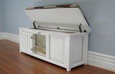 dog crate furniture bench