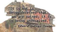 Edward Owings Towne - Deception