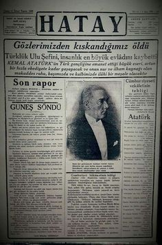 Atatürk Turkish War Of Independence, Turkey History, The Turk, Great Leaders, Type Setting, Love Symbols, Just Go, Instagram Story, Istanbul