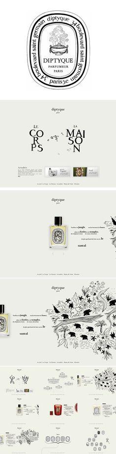 DIPTYQUE branding and logo | luxury branding