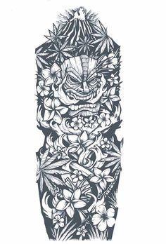 dessin-tatouage-polynésien-bras-entier tattoo designs ideas männer männer ideen old school quotes sketches Polynesian Sleeve Tattoo, Polynesian Tattoo Designs, Maori Tattoo Designs, Hawaiian Tattoo, Tattoo Designs For Women, Design Tattoos, Hawaiian Art, Tiki Tattoo, Hawaiianisches Tattoo