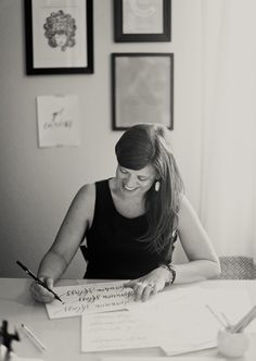 Interview with Heather Bloem of Design Roots - calligraphy small business owner