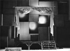 Macbeth - 04.06.1969, Josef Svoboda - scéna (foto: Jaromír Svoboda)
