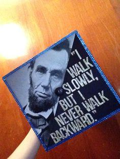 A graduation cap for History majors.