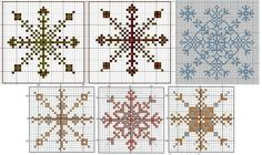 снежинки-схема Snowflakes, Cross Stitch, Quilts, Blanket, Rugs, Image, Home Decor, Google, Farmhouse Rugs