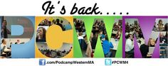 Collage of past #PCWMs