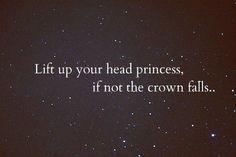Keep ur head up
