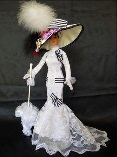 """Barbie Audrey Hepburn """"My Fair Lady"""", otra de las Barbies de mi colección."""
