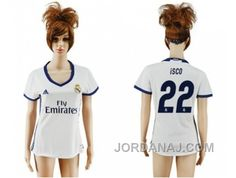 http://www.jordanaj.com/womens-real-madrid-22-isco-home-soccer-club-jersey.html WOMEN'S REAL MADRID #22 ISCO HOME SOCCER CLUB JERSEY Only $20.00 , Free Shipping!