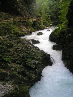 Eslovenia-Garganta de Vintgar.
