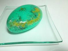 Aqua Rock ~ handmade Soap  3D shape   Exclusive Design by by Kokolele on Etsy
