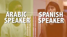 Similarities Between Spanish And Arabic; could be fun to try with students.