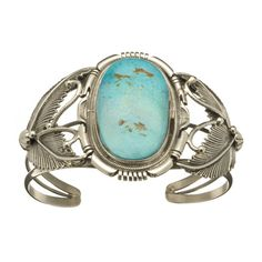 Lovely vintage Navajo Begay green spider webbed Turquoise heavy sterling  bracelet by navajodreams on Etsy