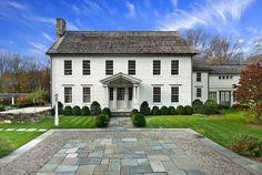 Connecticut farmouse. Tallman Segerson Builders, Fairfield.