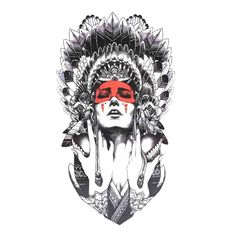 GGSELL Halloween Tattoo for men and women Indian girl temporary tattoo stickers by GGSELL * Check this awesome product by going to the link at the image. (This is an affiliate link) Maori Tattoos, Marquesan Tattoos, Samoan Tattoo, Sleeve Tattoos, Tatoos, Filipino Tattoos, Tribal Tattoos, Great Tattoos, Tattoos For Guys