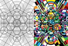 Sacred Geometry And There Is No Better Inspiration Than Click Zoom Wallpaper Geometry Shape, Geometry Art, Zoom Wallpaper, Sacred Geometry Symbols, Chakra Art, Spirograph, Visual Texture, Outline Drawings, Abstract Canvas Art