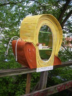 Little Free Snail Library, Quebec, Canada