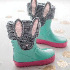 Animal Character Handmade Boot Toppers