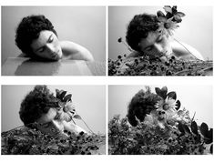 """""""Dream of Flowers, by Duane Michals. Sequence Photography, Dream Photography, Photography Classes, Film Photography, Nature Photography, Foto Banner, Duane Michals, Narrative Photography, Shadow Photos"""