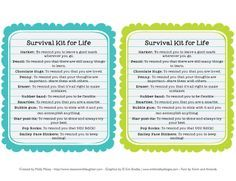 life survival pouch - Google Search